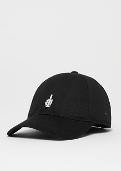 Cayler & Sons C&S WL Off Curved Cap black/white