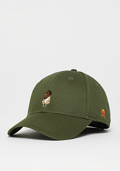 Cayler & Sons C&S WL Seezn Curved Cap olive/mc