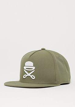 Cayler & Sons C&S PA Icon Cap olive/white