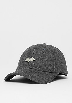 Cayler & Sons C&S CL Pinned Curved Cap htr grey/silver