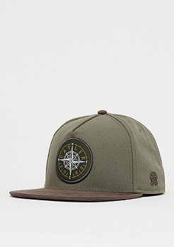 Cayler & Sons C&S CL Navigating Cap olive/brown