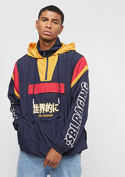 Cayler & Sons CSBL CRT Windbreaker navy/yellow