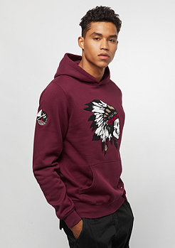 Cayler & Sons CSBL Patched Hoody bordeaux/mc