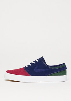 NIKE SB Zoom Stefan Janoski red crush/blue void/white/midnight green