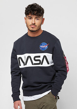 Alpha Industries NASA Inlay Sweater rep.blue