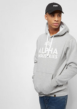 Alpha Industries Foam Print grey heather