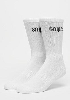 SNIPES Lot de 2 Basic Crew white