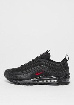 NIKE Air Max 97 black/university red/black