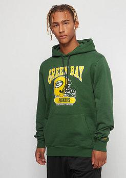 New Era Hoody NFL Green Bay Packers cilantro green