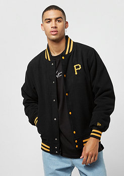 New Era Varsity Jacket Team APP MLB Pittsburgh Pirates black