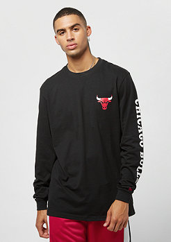 New Era LS Tee Team APP NBA Chicago Bulls black