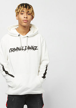 Criminal Damage CD Hood Electro offwhite/multi