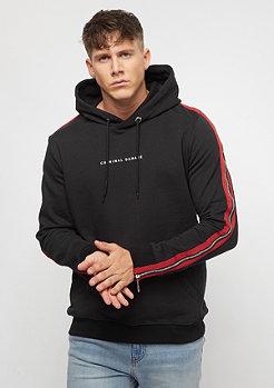 Criminal Damage Hood Zip black/red