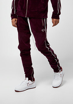 Criminal Damage Track Jogger Rep burgundy/white