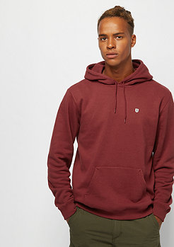 Brixton B-Shield Intl Hood Fleece burgundy