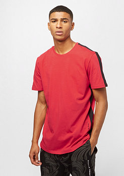 Criminal Damage Tee Carnaby red/black