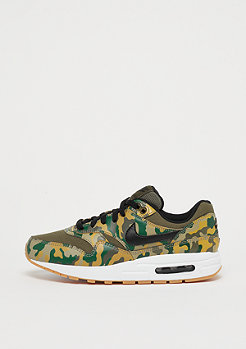 NIKE Air Max 1 Print (GS) medium olive/black-neutral olive-fir