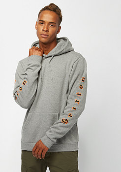 Brixton Primo Hood Fleece heather grey