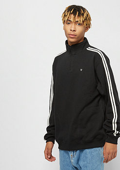Brixton B-Shield 1/2 Zip Fleece black cream