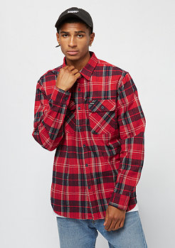 Brixton Bowerly Flannel red navy