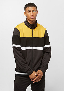 Criminal Damage Track Top Curzon black/yellow