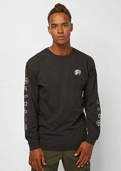 Brixton Primo LS Tee washed black