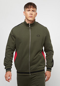 Criminal Damage Track Top Roman olive/multi