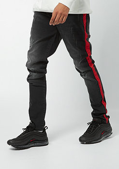 Criminal Damage Jeans Skinny Hatch black/red