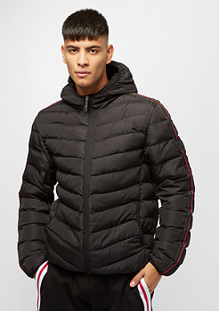 Criminal Damage Strand Puffa black/multi