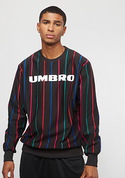 Umbro Umbro Malone Pin Stripe Sweat black
