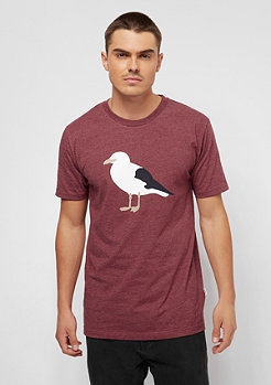 Cleptomanicx Gull 3 heather merlot red