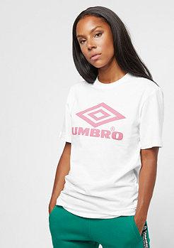 Umbro Umbro wmn Boyfriend Fit Logo Tee white/blush
