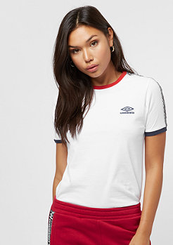 Umbro wmn Contrast Rib white/navy/red