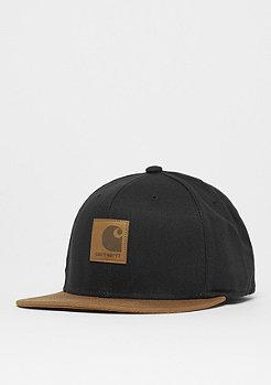 Carhartt WIP Logo Cap Bi-Colored black/hamilton brown