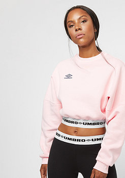 Umbro Umbro LS Crop Batwing Top blush/blue nights