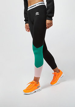 Umbro Umbro wmn Colour Block Leggings black/parasail/blush