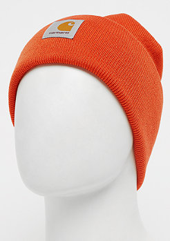 Carhartt WIP Acrylic Watch Beanies persimmon