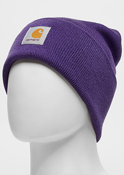 Carhartt WIP Acrylic Watch Beanies frosted viola