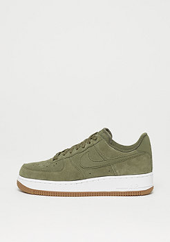 NIKE Wmns Air Force 1 medium olive/white-gum light brown