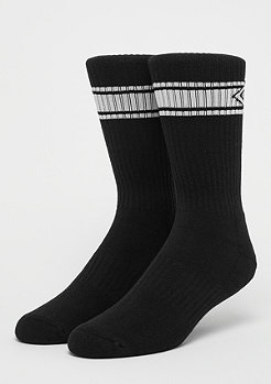 Homeboy Unisex Nappo Stripe Sock 3Pack black