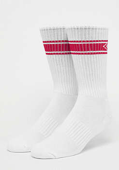 HB Unisex Nappo Stripe Sock 3Pack white