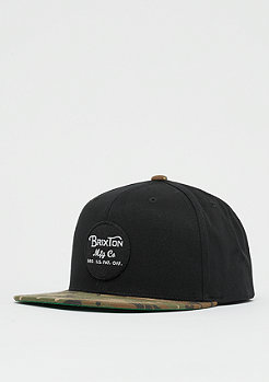 Brixton Wheeler Snap black/camo