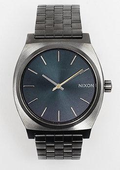 Nixon Time Teller gunmetal/indigo