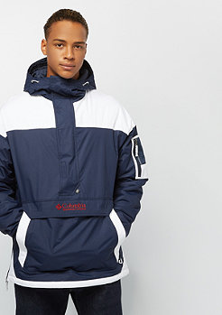 Columbia Sportswear Challenger Pullover collegiate navy white red element