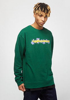 The Hundreds Bubble Bar Crewneck dark green
