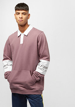 The Hundreds Stack Pullover mauve