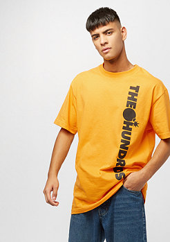 The Hundreds Bar None T-Shirt gold