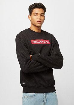 Rocawear Logo De Lux Crewneck black