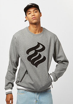 Rocawear Teddy Chain Crewneck h grey