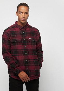 Columbia Sportswear Windward IV Shirt Jacket red element plaid